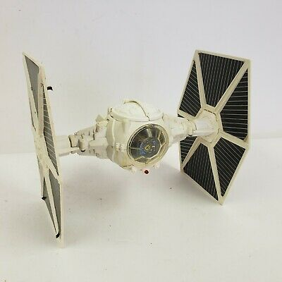"1978 Star Wars White Imperial Tie Fighter Large 10"" Wide Kenner Craft Ship"