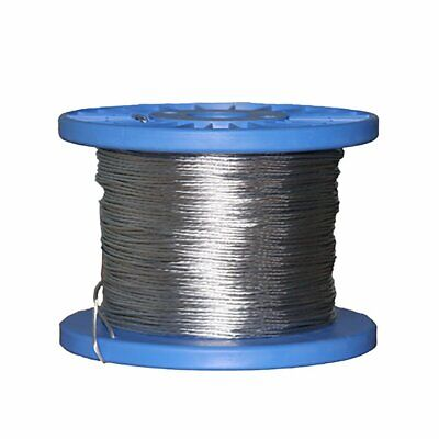 7 Strand Heavy Galvanised Stranded Fencing Wire Electric Fence 200m 400m