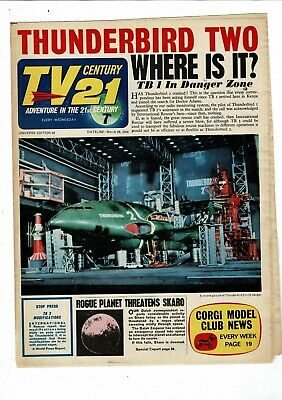 TV Century 21 COMIC no. 62 March 26 1966  7d