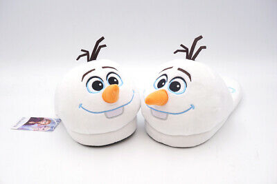 Disney Frozen Olaf House Home Indoor Women's Plush Shoes Slippers US 8-9
