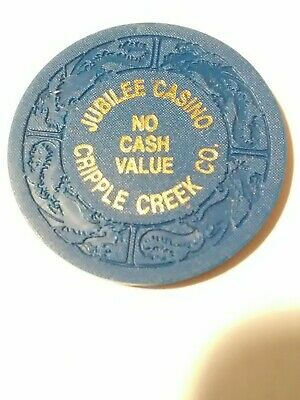 Jubilee Casino Cripple Creek Colorado No Cash Value Chip Great For Collection #1
