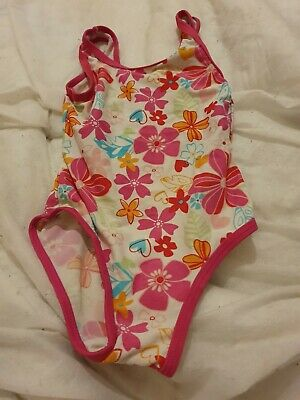 Lovely Girls Mothercare Swimming Costume Age 2-3 Years