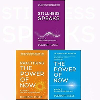 Eckhart Tolle The Power Of Now Collection 3 Books Set