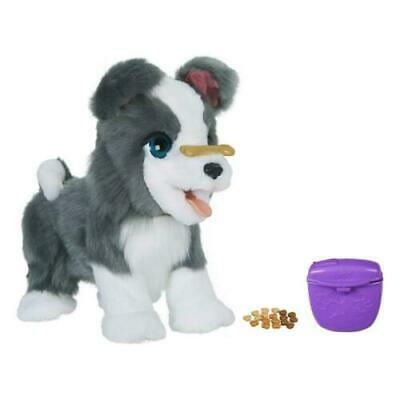 FurReal Friends Ricky, the Trick-Lovin' Interactive Plush Pet Toy - Gray Dog
