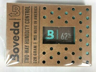 Boveda 62% RH 2-Way Humidity Control  320 gram INDIVIDUALLY WRAPPED 1 pack