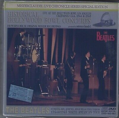 The Beatles - Historic Hollywood Bowl Concerts - 2 DVD, 6 CD