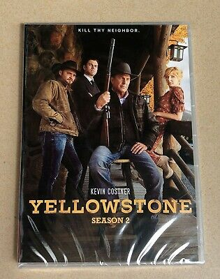 Yellowstone : The Complete Latest season (2019 DVD 4-Discs Set) First Class Mail