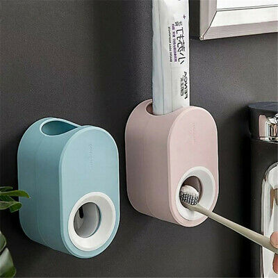 1PC Automatic Toothpaste Dispenser Toothpaste Squeezer Storage Holder