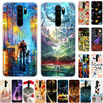 For Xiaomi Mi 9 CC9 Redmi Note 7 8 6 Pro Ultra Painted Soft Silicone TPU Cover