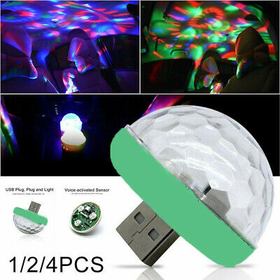 USB LED Disco Stage Light Party Club KTV Lamp Ball LED w/Android/Type-C connect