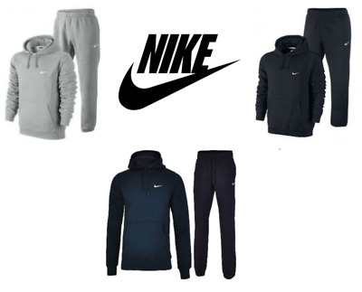 Nike Men's Full Tracksuit Fleece Hoodie Jumper Pullover Casual Tracksuit