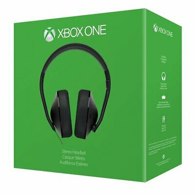 Xbox One Wired Stereo Headset & Microphone Official Microsoft Black  6M WARRANTY