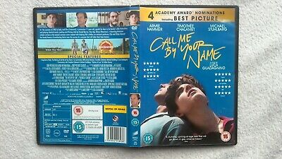 Call Me By Your Name UK R2 GAY INTEREST + FREE EROTIC GAY DVD GC FAST POST