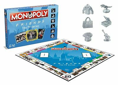 Friends Monopoly The TV Series Edition Board Game  (Ages 8+) *BRAND NEW*