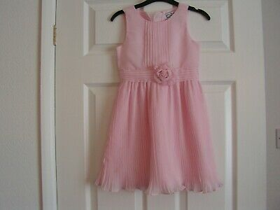 Girls Aphorism Pink Party Dress Age 5-6Yrs.
