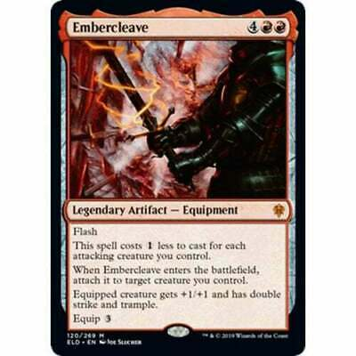 1x EMBERCLEAVE - Throne of Eldraine - MTG - NM - Magic the Gathering