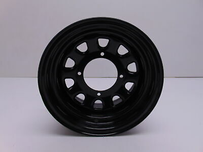 ITP Delta Steel Wheel With 12mm Bolt Holes 4//137 Black 14x7 4+3 12mm