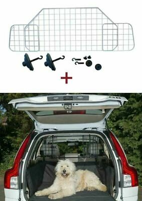 Mesh Headrest Pet Dog Guard+Quilted Boot Liner For Kia Ceed estate