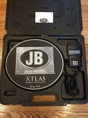 JB Industries Atlas Refrigerant Charging Scale 100kg 220lb Great Condition!