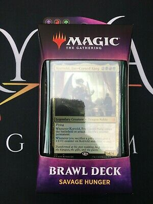 Savage Hunger (Throne of Eldraine Brawl Deck) MTG - Magic: the Gathering NEW