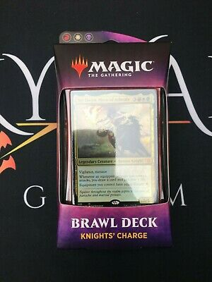 Knights' Charge (Throne of Eldraine Brawl Deck) MTG - Magic: the Gathering NEW