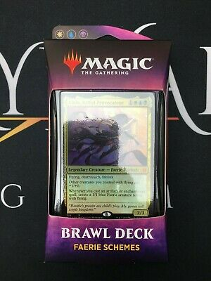 Faerie Schemes (Throne of Eldraine Brawl Deck) MTG - Magic: the Gathering NEW