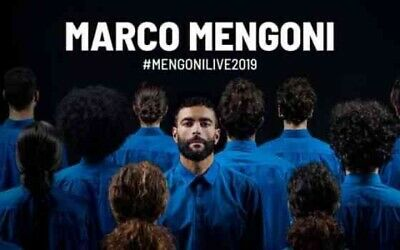 Concerto Marco Mengoni 06/11/ 2019 Palabarton Perugia. Sold Out.