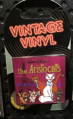 2019 Disney Vintage Vinyl Pin Limited Edition - The Aristocats *Pre Sale 11/7/19