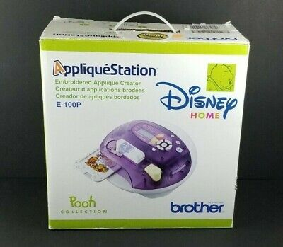 Disney Home Pooh Collection Brother Applique Station Embroidery Machine E-100P