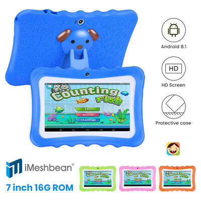 """Kids 7"""" Tablet PC 8GB Android Wifi Quad Core Educational Apps Best Gift"""