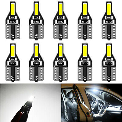 TUINCYN T10 501 194 W5W 7020 SMD Wedge License Plate LED Interior Light Bulbs UK