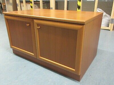 Vintage Mcintosh Mid Century Teak Coloured TV Media Unit Sideboard Furniture