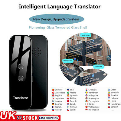 Newest 70 Languages Translaty MUAMA Enence Smart Instant Voice Translator UK