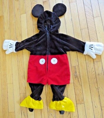 Disney Mickey Mouse Baby Costume Bodysuit NWT $6 //27/%Off size 3-6-9-12-18 months