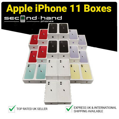 Genuine Apple iPhone 11 - Empty Box Only - All Colours - 64/128/256GB