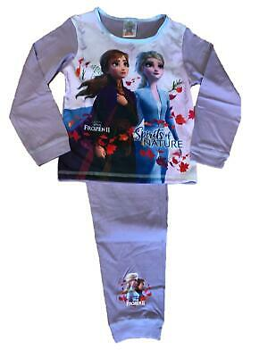 Girls Disney Frozen 2 Pyjamas Set Character Pjs