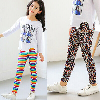 Girls Pants Toddlers Trousers Kids Pants Party Autumn Slim Fit Stylish