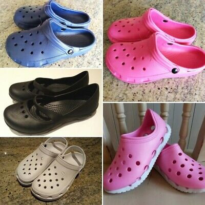 Croc type shoes sandals slip-on hospital medical Sizes UK 3-8