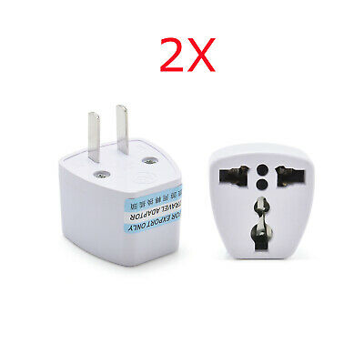 EU UK to US Travel Adapter Charger Power Converter Wall Plug  Electrical Outlet