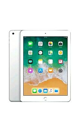 New Sealed Apple iPad 6th generation 32GB, Wi-Fi 9.7inch Silver