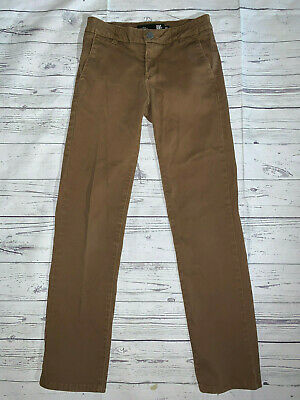 """RSQ CHINO Tilly's Boys London Skinny Brown Denim Jeans size 16 x 29""""L"""