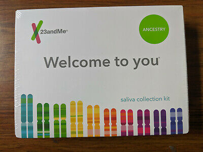 23andMe Ancestry DNA Saliva Collection Kit NEW FACTORY SEALED