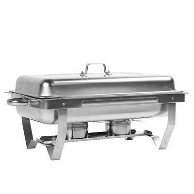 4 x Stainless Steel Restaurant Buffet Stove Insulation Buffy Furnace Commercial