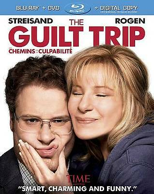 The Guilt Trip Bluray/DVD Combo Bilingual Slipcover Free Shipping In Canada