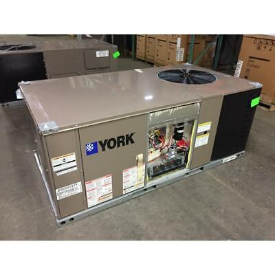 York Ze060H10B2A4Eaa1A1 5 Ton Convertible Gas/Electric Packaged Unit. 3 Phase