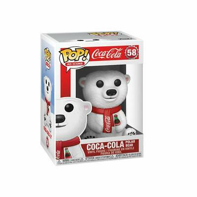 Funko Pop! Ad Icons: Coca-Cola - Polar Bear 58 41732 Vinyl Figure New In Stock