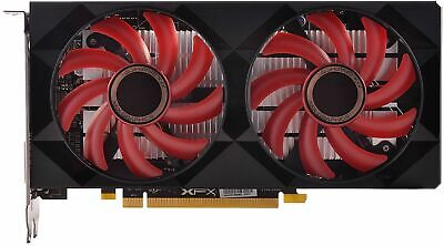 XFX - AMD Radeon RX 550 2GB GDDR5 PCI Express 3.0 Graphics Card - Black/Red