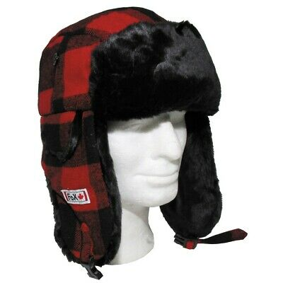 CANADIAN LUMBERJACK / TRAPPER HAT by FOX OUTDOORS