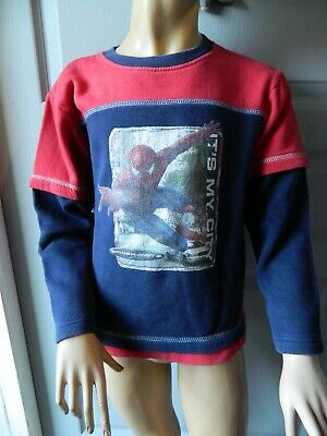 "Pull  genre sweat garçon T 8 ans ""Spiderman"""