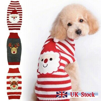 Christmas jumper for Dogs Cute Rudolph the Dog plush Motif small medium
